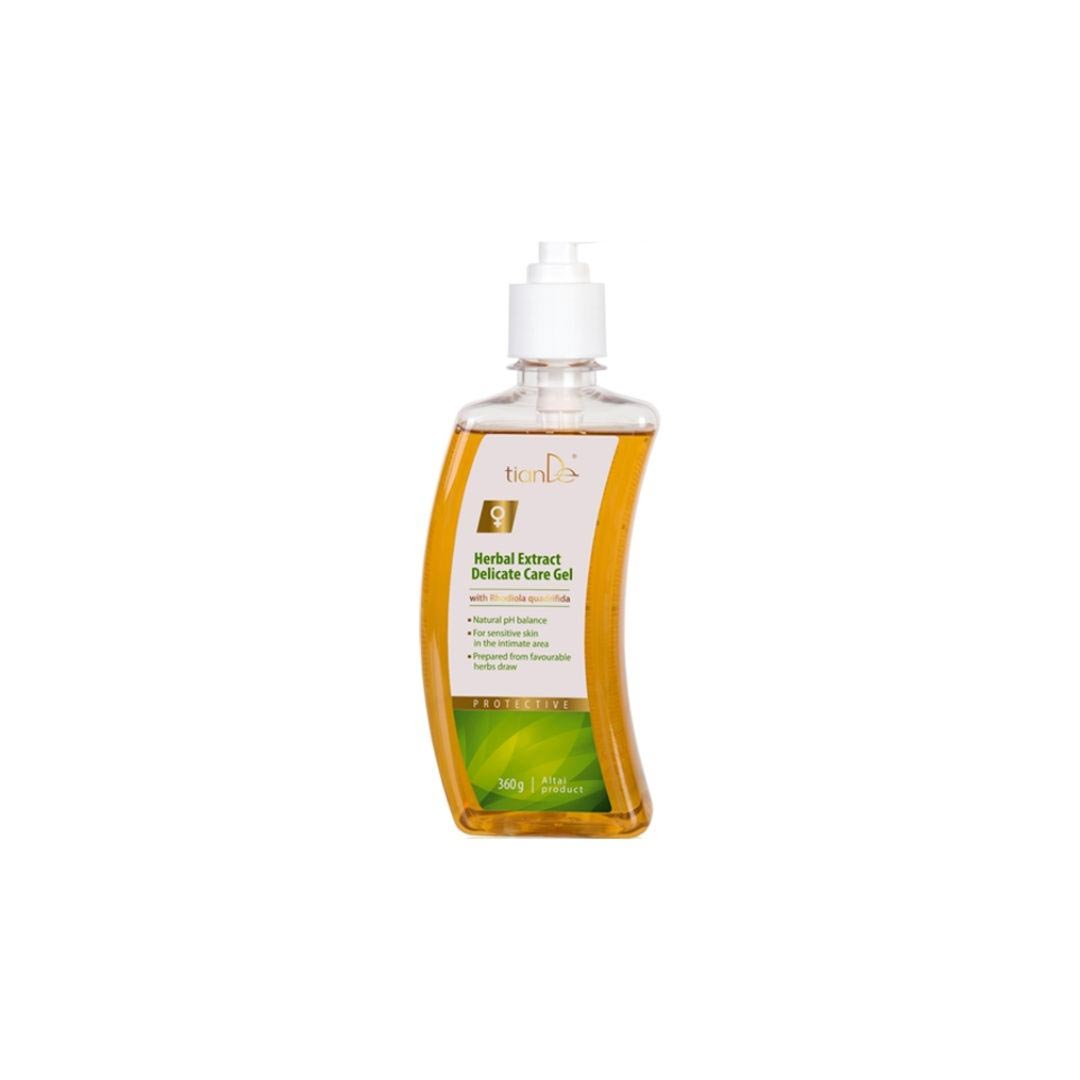Gel pentru ingrijire intima cu extracte din plante